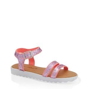 Girl glitter sandals